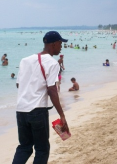 cuban biscuit seller