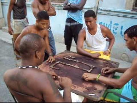 dominos game havana cuba