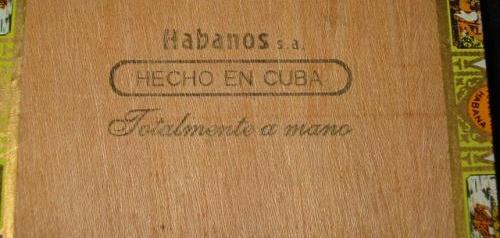 stamp on bottom of cigar box