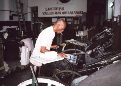 cuban printing press