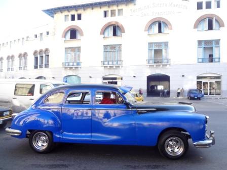 old car in havana