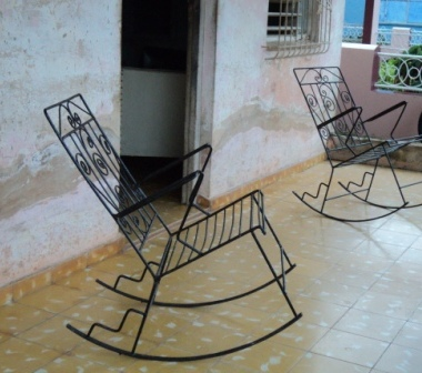rocking chairs havana cuba