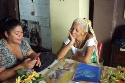 women at work havana cuba