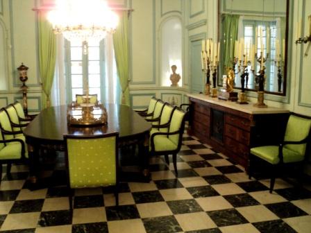 napoleon museum dining room