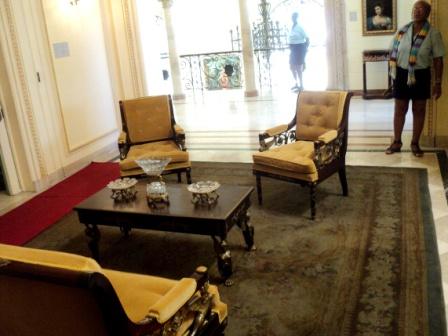 napoleon museum sitting room