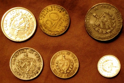 cuban pesos coins