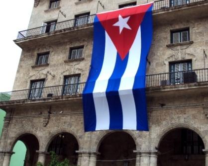 cuban flag havana cuba