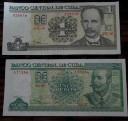cuban national pesos