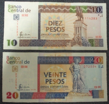 cuban pesos for tourists