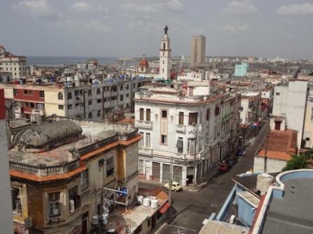 view of vedado havana cuba