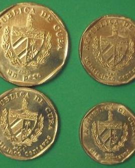 tourist convertible cuban pesos coins
