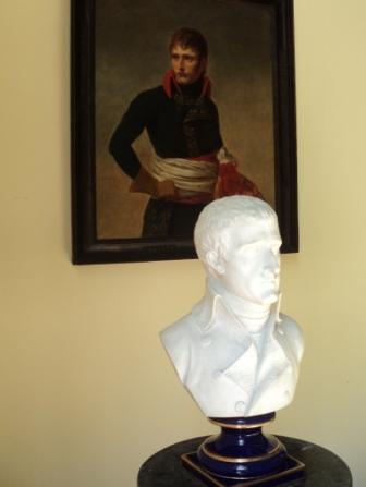 napoleon portrat and bust