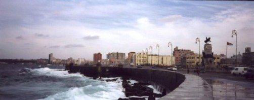 view of the malecon