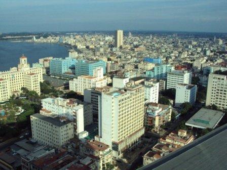 buildings in central havana cuba